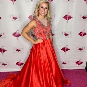 Rachel Allan Couture Gown